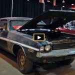 rescued 1970 dodge challenger r/t