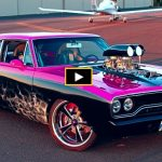 custom 1970 plymouth road runner pink rnr