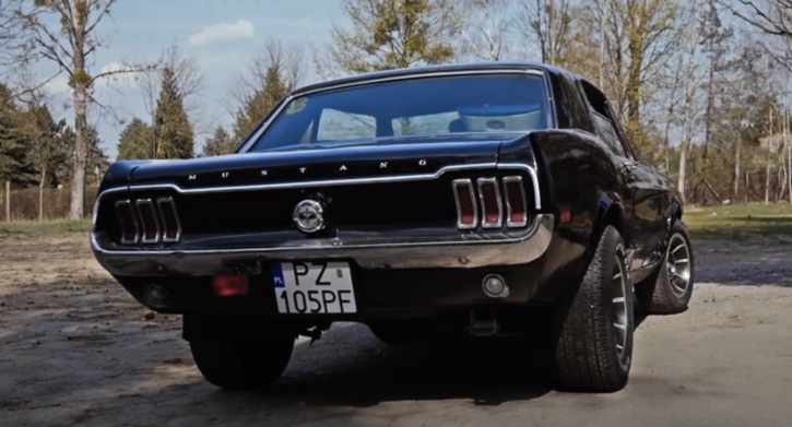 1968 mustang coupe video