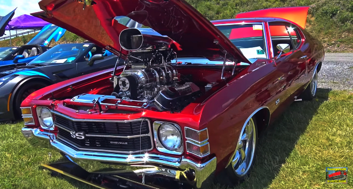 big block chevy chevelle video