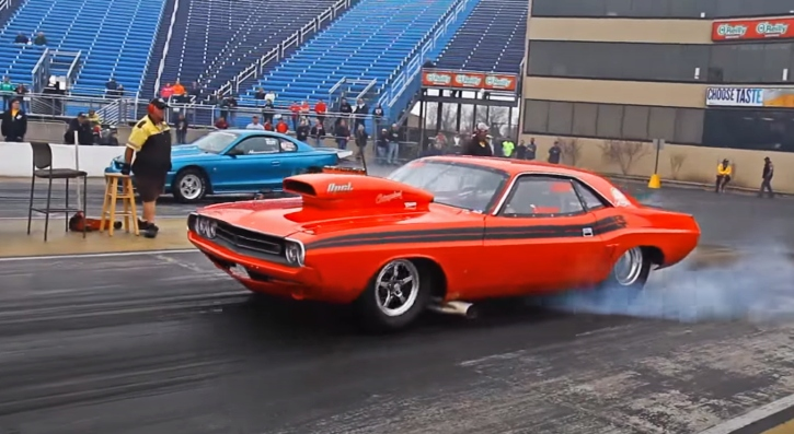 9 second dodge challenger