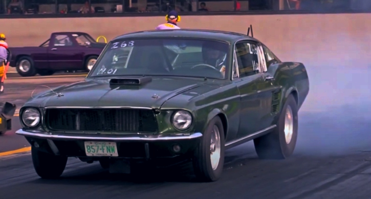 10 second 1967 ford mustang