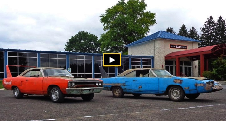 1970 plymouth superbird uncovered