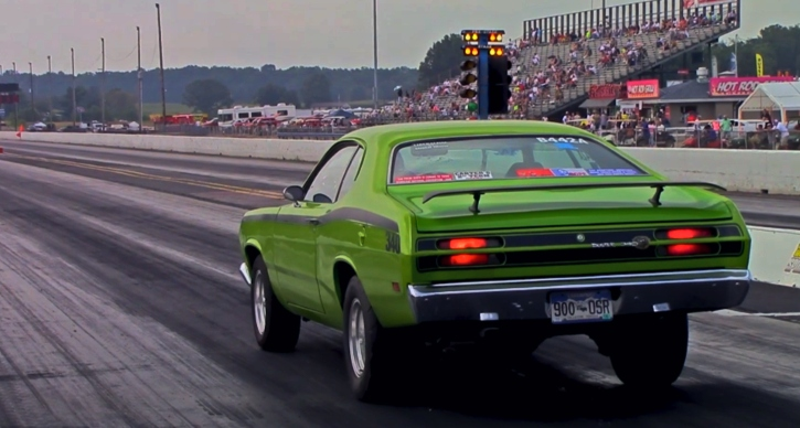 plymouth duster 340 quarter mile pass