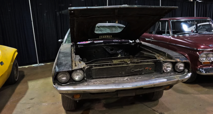 1970 dodge challenger 440 six pack barn find