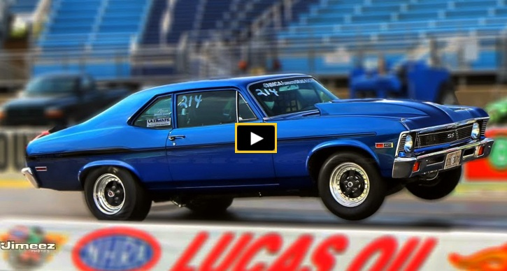 big block chevy nova running 9s