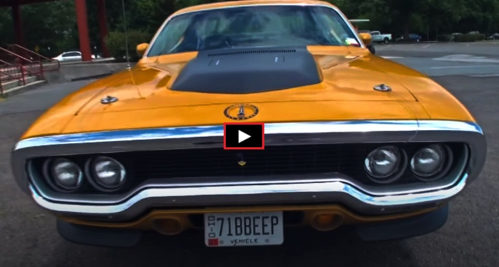 bahama yellow plymouth road runner 340