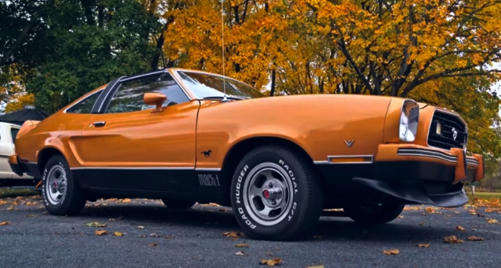 history of the ford mustang II