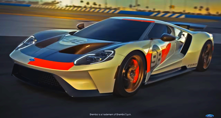new ford gt herritage edition