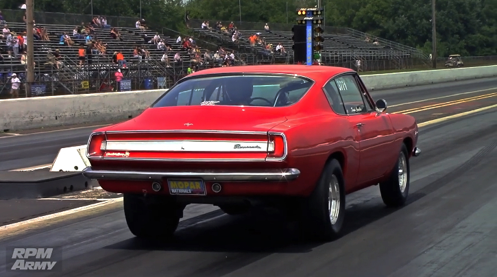 plymouth barracuda drag racing