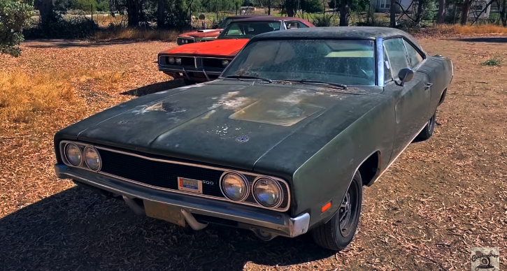 low production 1969 dodge charger barn find
