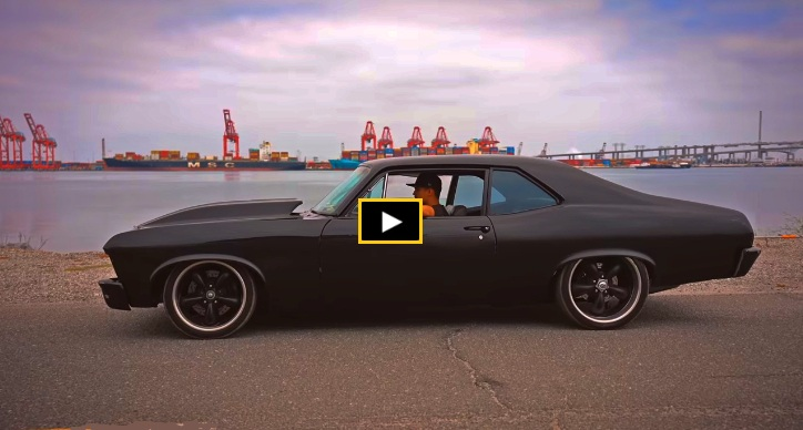 black 1970 chevy nova build