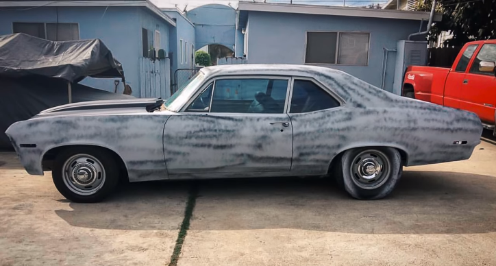 garage built 1970 chevy nova