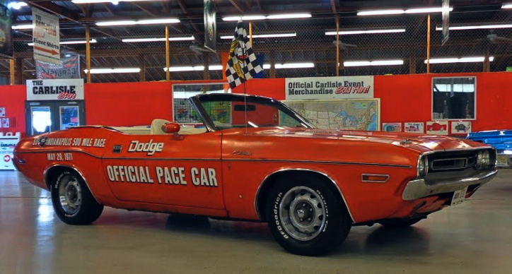 1971 dodge challenger indy 500 survivor