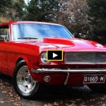 1965 ford mustang stroker engine