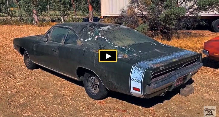 barn find 1969 dodge charger loaded with options