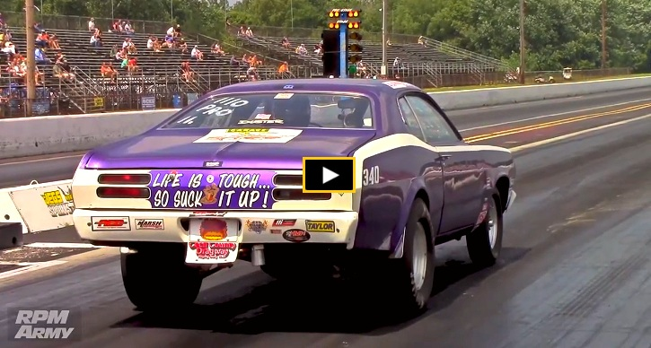 plymouth duster 1/4 mile