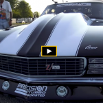 twin turbo small block camaro drag racing