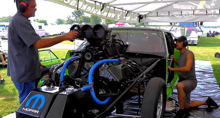 malek racing superbird promod hemi engine