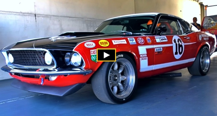 1969 ford mustang trans am race car tribute