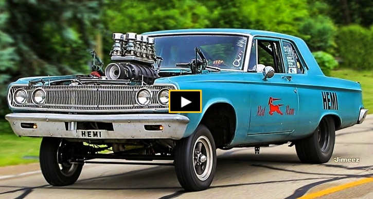blown hemi dodge coronet gasser