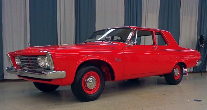 real 1963 plymouth savoy 426 max wedge