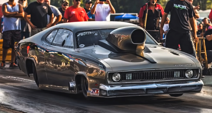 alex kucia 1970 hemi duster drag racing