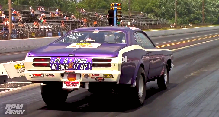 340 duster drag racing