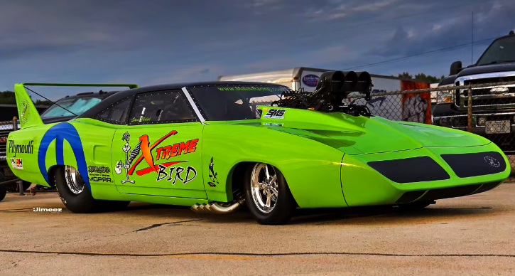 blown hemi plymouth xtreme bird