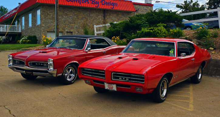 pontiac muscle car history