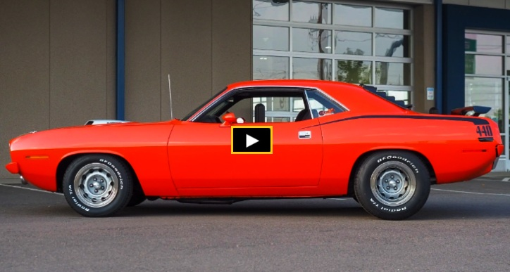 tri power injected plymouth cuda 440