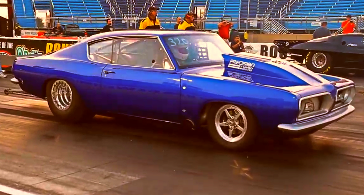 7 second plymouth barracuda