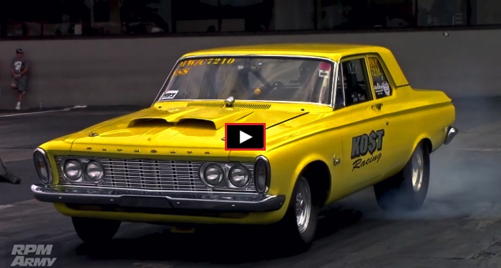 10 second plymouth belvedere drag racing