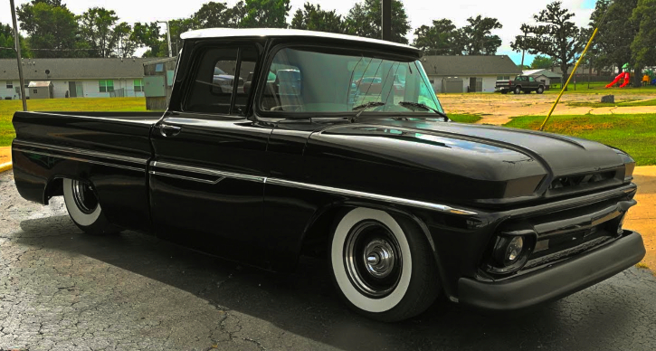 custom built 1963 chevy truck