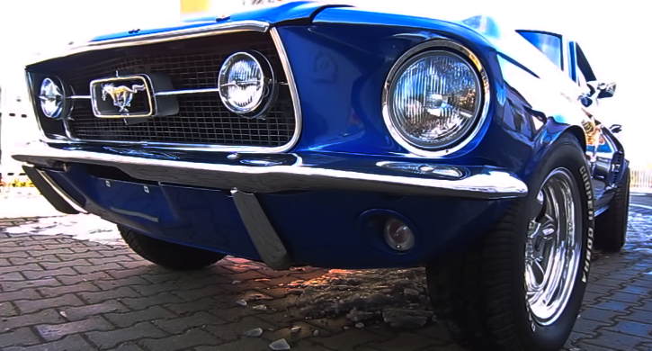 1967 mustang 390 fe engine sound