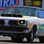 stephen yantus super stock barracuda drag racing