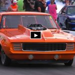 bankston nos boss camaro drag racing