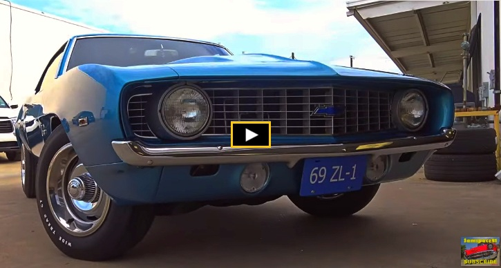best 1969 chevy camaro muscle cars video