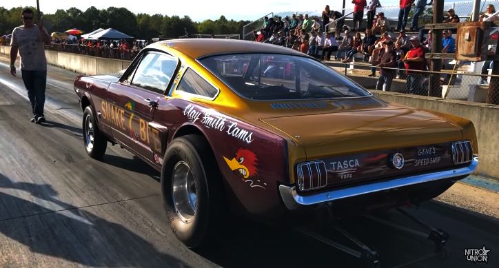 ford mustang 427 gasser