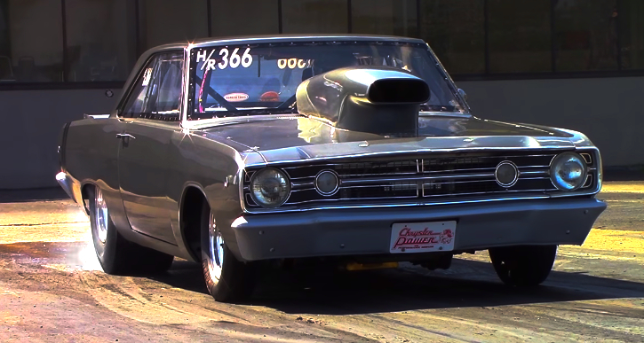 1968 dodge dart drag racing