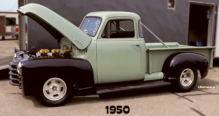 inline 6 powered chevy pick up sleeper