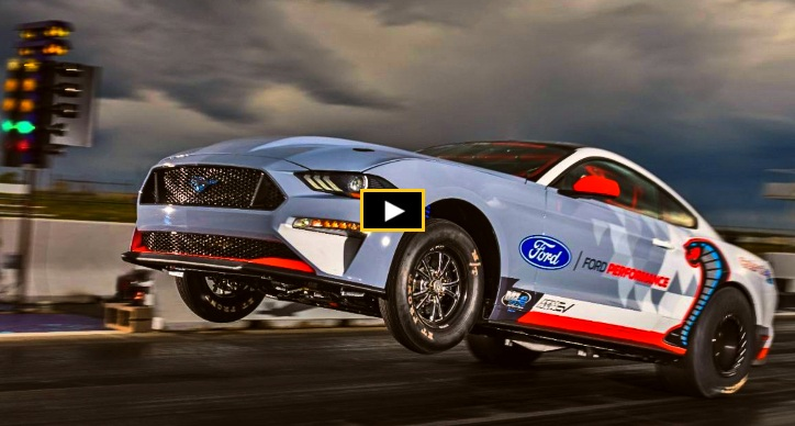 electric mustang cobra jet prototype 1/4 mile