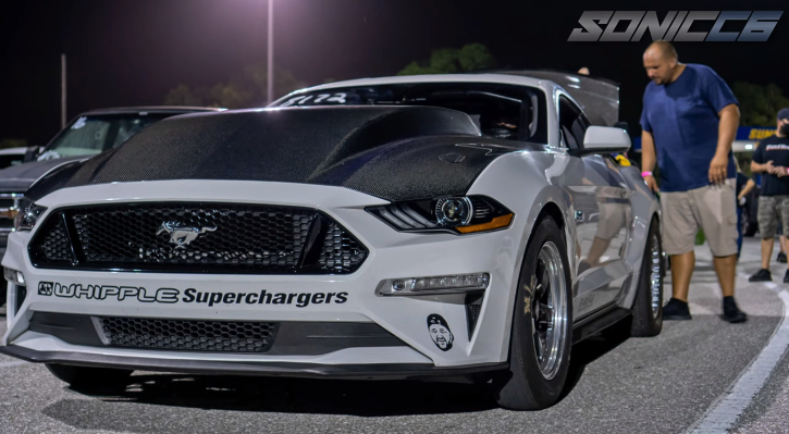 supercharged s550 mustang world record