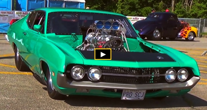 1970 ford torino cobra blown jon kaase engine