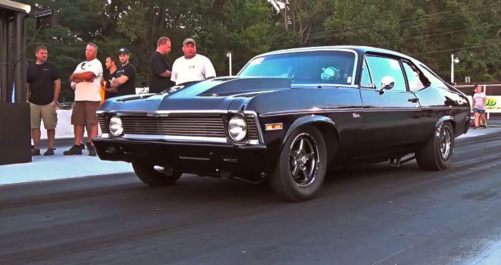 chevy nova x235 radial drag racing