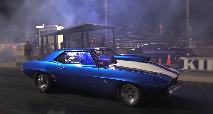 tyler brewer 1969 camaro drag racing
