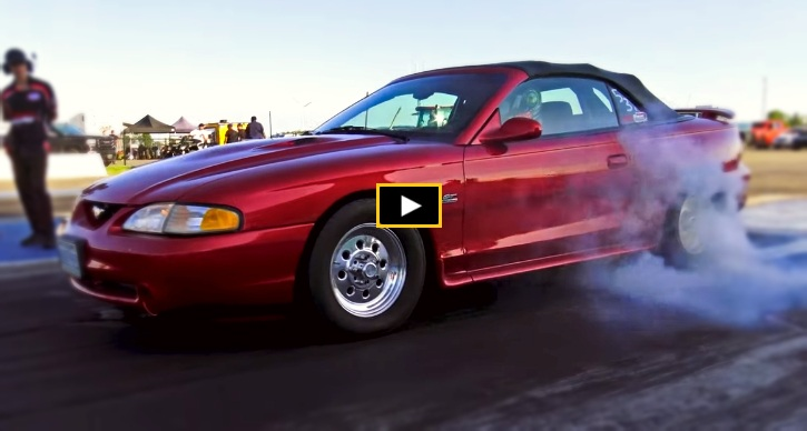 daily driven ford mustang running 8's