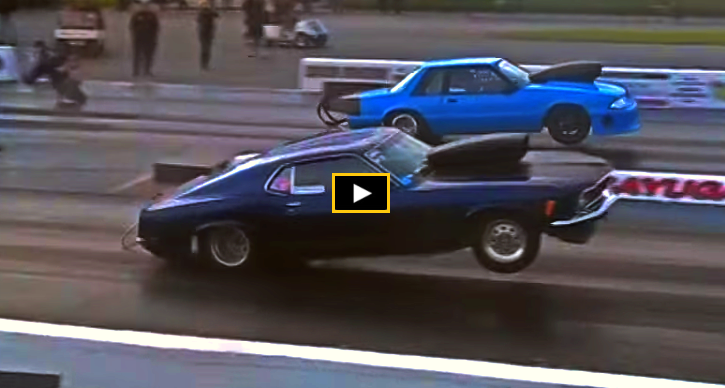 1970 ford mustang drag racing