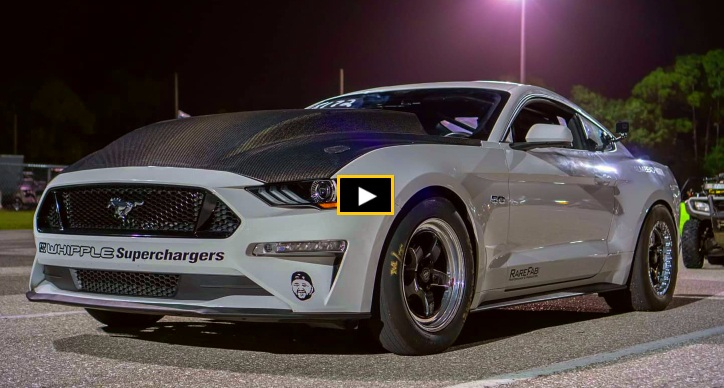 2018 ford mustang gt world record