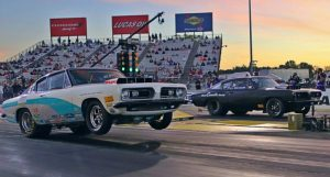 1968 plymouth barracuda dodge hemi shootout